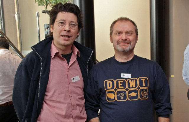Ray Oei and Peter Schrijver