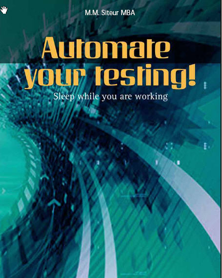 Book cover automate your testing
