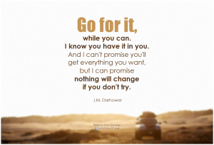 Change if You Can